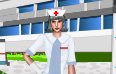 Одень красавицу медсестру