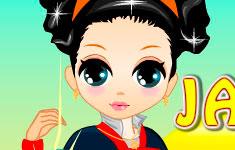 Одень юную японку