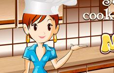 Сара готовит мусаку